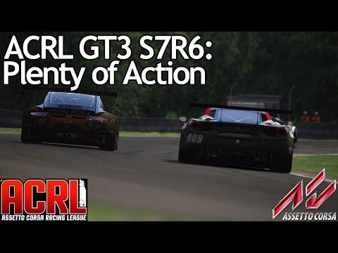 ACRL GT3 S7R6: Plenty of Action (911 GT3R @ Brands Hatch)