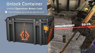 Bravo case opening, but for every