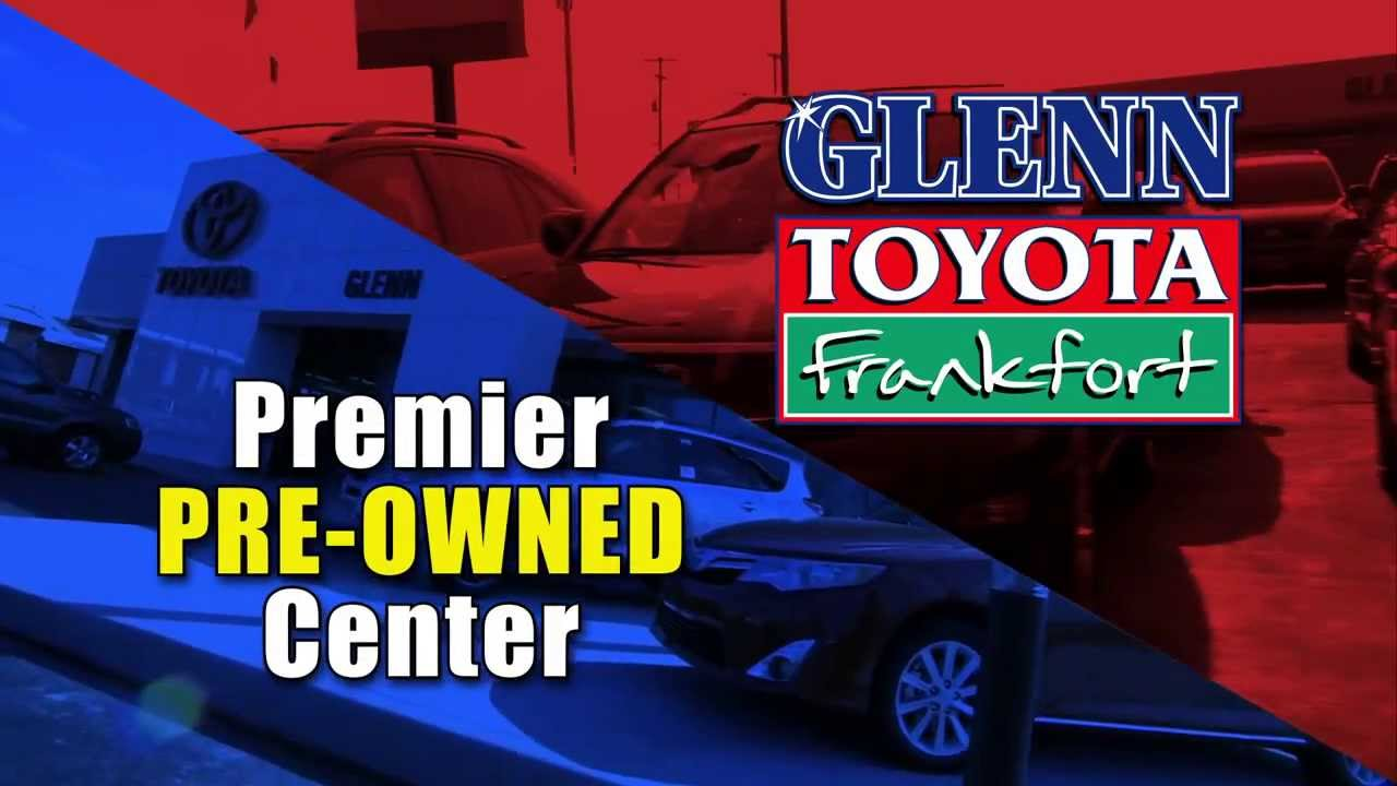 Charming Glenn Toyota Frankfort Beats NADA U0026 Kelly Blue Book Pricing