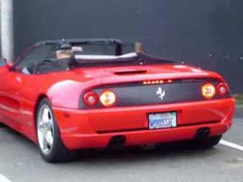 Ferrari F355 Spider F1 - YouTube