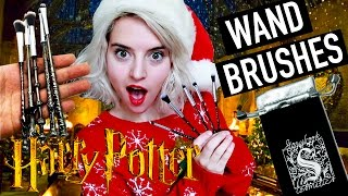 Harry Potter Make Up Brushes Wizard Wand Unboxing | Mail Time
