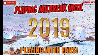 🔴 [LIVE] l Roblox Jailbreak Livestream l 🎉 STREAMING UNTIL NEW YEARS DAY 🎉 l Minigiochi / Grinding