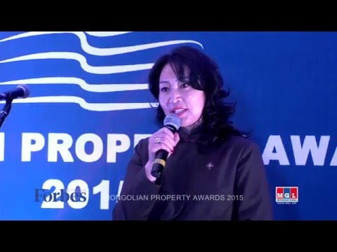 Mongolian property awards  2015