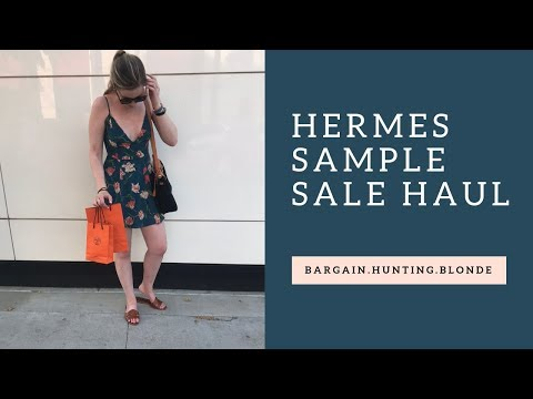Hermes Sample Sale Haul! | My Experience at the Hermes Sale