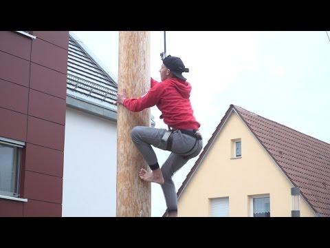 Maibaum-Kraxeln in Altenreit   02.05.2017   Journal Stuttgart