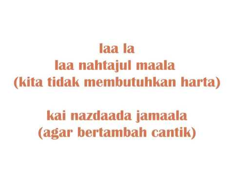 Be Yourself (Mimi Nazrina's cover) with lyrics