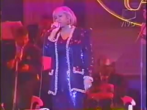Celia Cruz y el Canario en el aniversario del callao (Lima - Perú)1998
