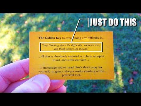 the golden key emmet fox pdf