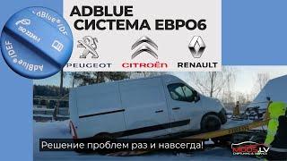 PEUGEOUT, CITROEN, RENAULT-Евро 6, проблемы с экологией, AdBlue SCR, DPF Сажевый фильтр. Важно знать