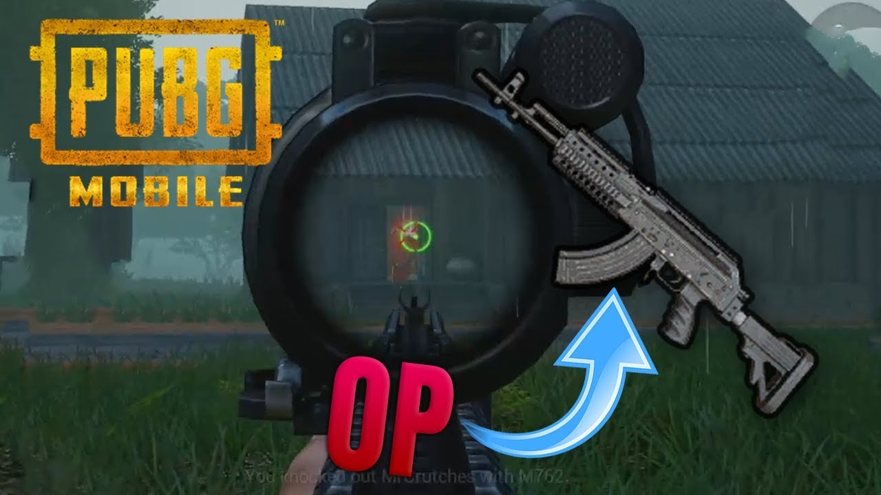M762 Pubg: Why The M762 Is The Best Weapon In The Game (PUBG Mobile