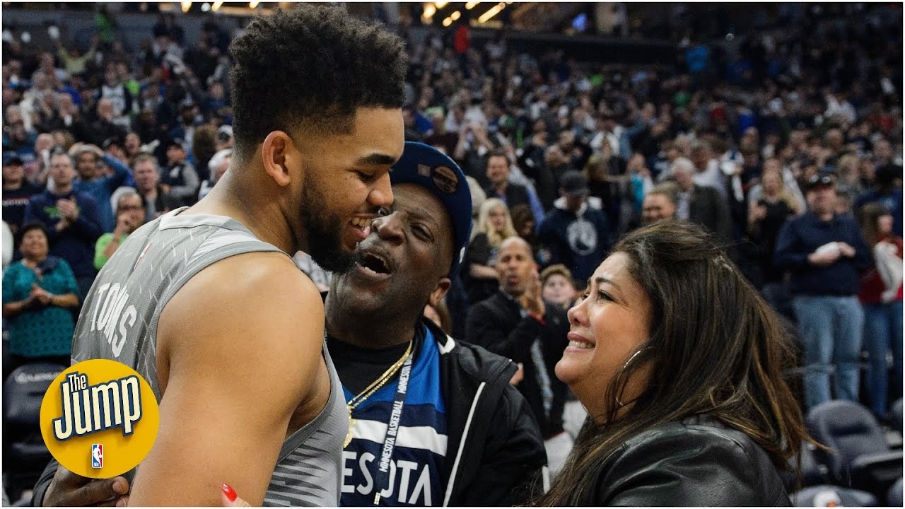 The Jump Remembers Karl Anthony Towns Mother Jacqueline Cruz Youtube