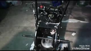 Снегоуборщик ремонт фрикционного диска(Ремонт при помощи клинового ремня., 2017-01-10T19:35:12.000Z)