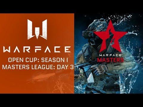 Warface Open Cup Europe: Season I. Masters League 3-1