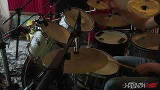 The MothMan Curse -  Drum Recording 2018