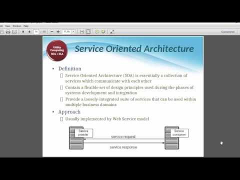 utility computing in cloud  lecture#2