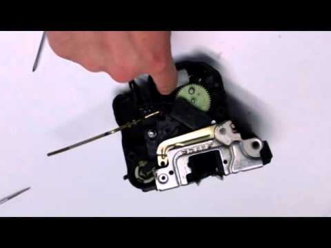 benz w211 door lock latch actuator repair doovi. Black Bedroom Furniture Sets. Home Design Ideas