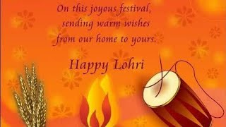 Fabulous Happy Lohri tiktok ringtone Happy Lohri viral 2020 what& 39 s app status Happy maker Sankranti