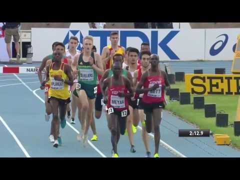 IAAF Boys 3000 metres Steeplechase final, Nairobi Kenya