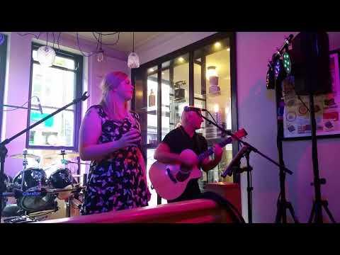 Hatrick- Lancaster music festival 2017- Livin on a prayer and Long train runnin
