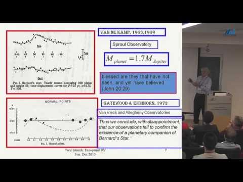 Tsevi Mazeh (Tel Aviv University) Detection of Planets with Radial Velocities