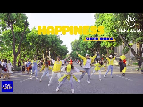 [KPOP IN PUBLIC - HERE WE GO CONTEST] Happiness (행복) - Super Junior(Seventeen Version) Cover By CetB