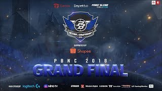 PBNC 2018 Grand Final RRQ Endeavour VS Alter Ego