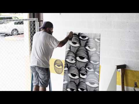 """Furtif Art Project"", Art Basel Miami, Florida - 2016"