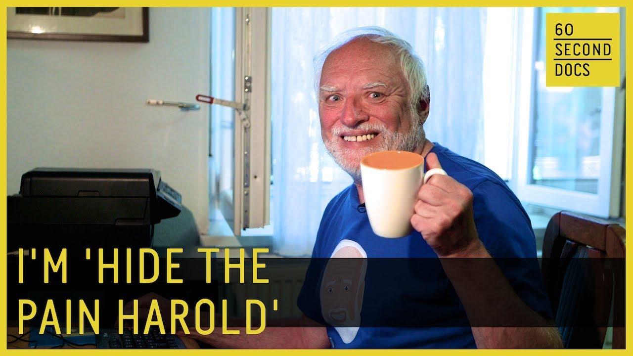 Amazon Com Hide The Pain Harold Meme Old Man Funny Coffee Mugs