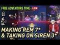 [FFBE JP]EP15 | Awakening Rem To 7-Star & Taking On 3-Star Siren Esper