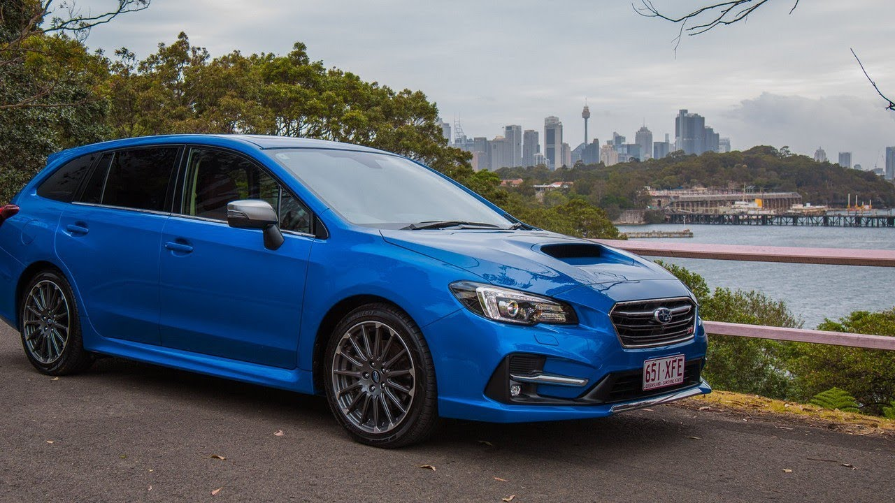 2018 Subaru Levorg 2.0 STI Sport review - YouTube