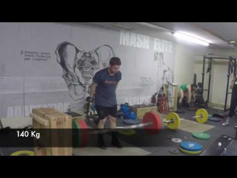 John Stang Clean and Jerks 7 Kg Over American Record: Max Out Friday 3-31-17