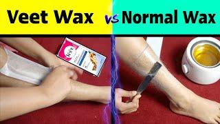 Veet Wax Strips Vs Normal Wax