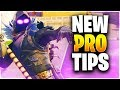 NEW PRO TIPS YOU NEED TO LEARN!! (Fortnite Battle Royale)