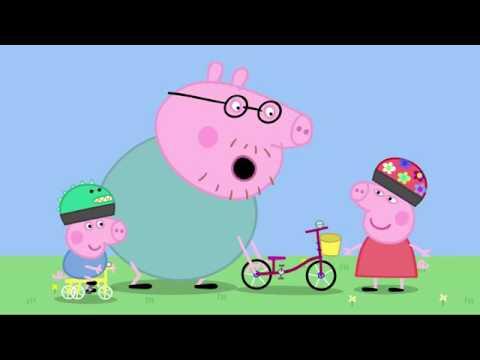 Peppa Pig Peppa Learns How To Ride A Bike