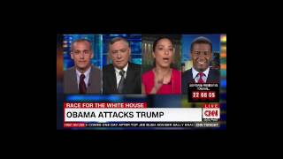 Angela Rye, CNN political analyst compilation