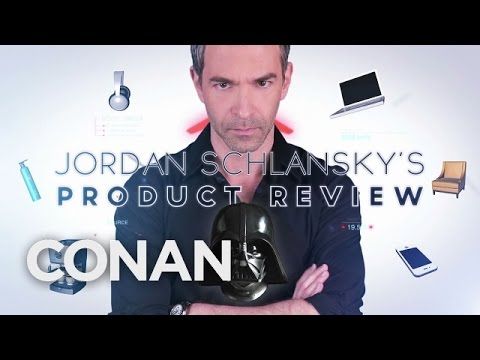 Jordan Schlansky's Product Review: Darth Vader Helmet  - CONAN on TBS