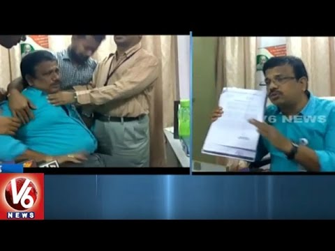 Vijaya Dairy Withdrawals Rs 1.20 Crores From Medak SBH Bank After Currency Ban | V6 News