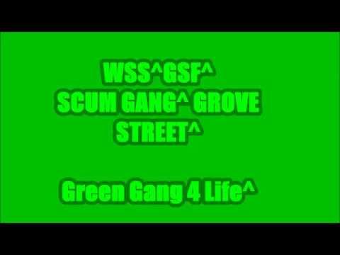 GSF x WSS   Grove/Scum Alliance