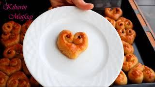 Düşman çatlatan İrmikli kalp şeklinde aşk tatlısı tarifi - Şerbetli tatlı tarifleri- Kibarin mutfagi