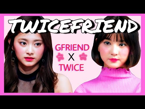 Thumbnail: GFRIEND x TWICE TWICEFRIEND Interactions and Friendship