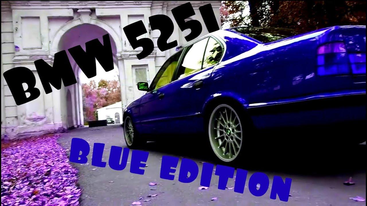 BMW 525i Blue edition