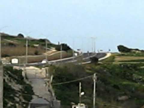MVI_1711 Jan 2011.AVI Traffic hazard -motorcycles on S Paul's Bay bypass Malta