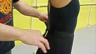 How to Tie Your Ballet Skirt
