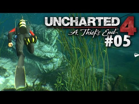 Diving For Salvage -- Uncharted 4 #05