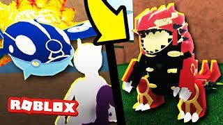 NEW Primal Groudon and Kyogre in Pokemon Legends 2! (Roblox Pokemon)