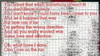 Airwaves - Love on the run