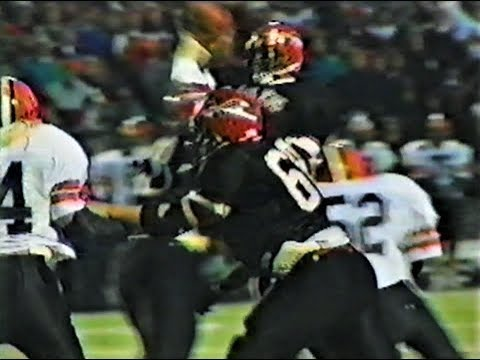 Bellaire Big Reds football - 1995 Playoffs v. Versailles, Ohio Div. 4 State Championship