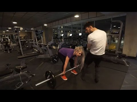 Ice Poseidon & Halie at the gym working out [VOD: 25-04-2017]