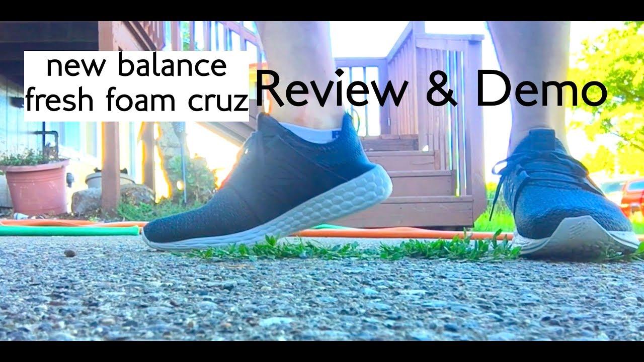 ★★★★★ Review: New Balance Fresh Foam Cruz Running Shoe GalaxyPetrol Sneaker Cushion 2018