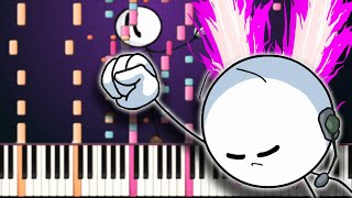 The Henry Stickmin Collection - Dance Diversion - Piano Remix видео